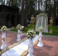 Оформление выездной церемонии, арка на прокат