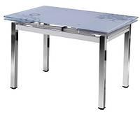 Стол обеденный Флер, раздвижной стол, размер стола от 1100 до 1700 см, высота 74см