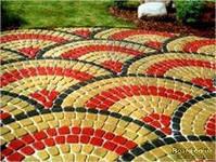Тротуарная плитка Креатив Золотой мандарин