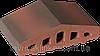 Парапет крышка клинкерная на забор Таинственный сад (05)