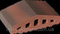 Парапет крышка клинкерная на забор Таинственный сад (05), фото 1
