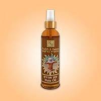 Ореховое и морковное масло для загара, израильская косметика Health and beauty