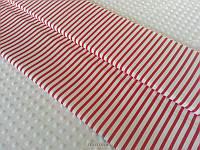 Полоски 6/10 мм красные        , фото 1