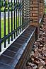 Парапет крышка клинкерная на забор Нота цинамона (06), фото 5
