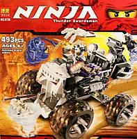 "Конструктор Bela Ninja 9736 (аналог Lego 2506) ""Грузовик-Череп"""
