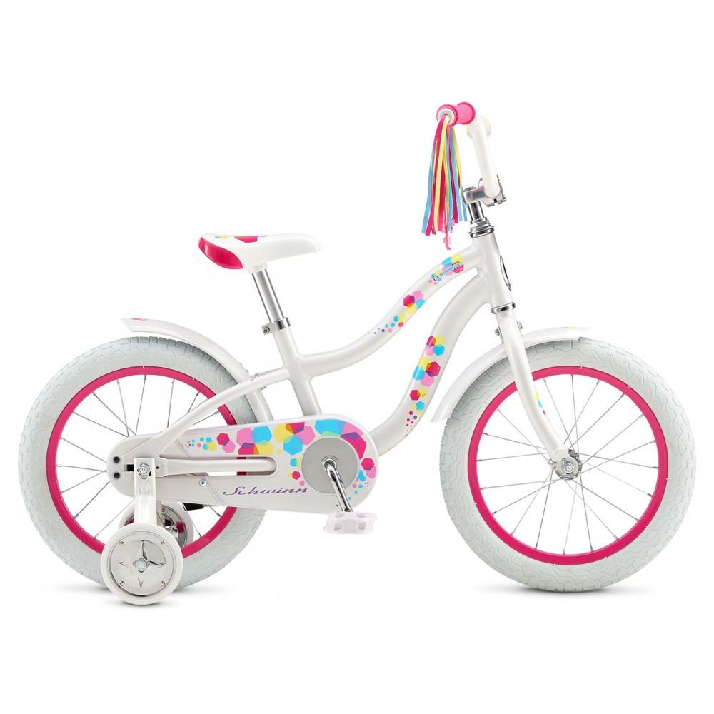 """Велосипед 16"""" Schwinn LIL Stardust girl 2017 белый"""