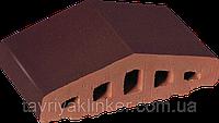 Парапет крышка клинкерная на забор Кармазиновый остров (07), фото 1