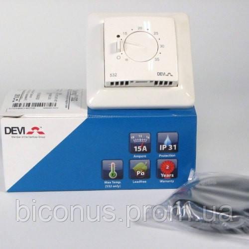 Терморегулятор  электрического пола DEVIreg 532