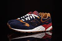 Мужские кроссовки New Balance 999 (Нью Бэлэнс) синие