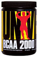 Universal Nutrition BCAA 2000, 120 caps