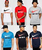 Футболка мужская с принтом найк,Nike Just Do It