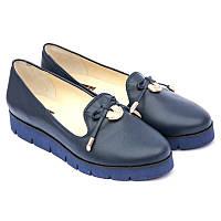 Туфли женские классические из натуральной кожи