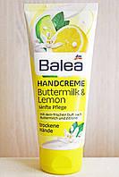 Крем для рук Balea Handcreme Buttermilk Lemon, 100 ml (Германия)