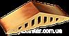 Парапет крышка клинкерная на забор Пустынная роза тон (11)
