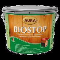 Aura Wood Biostop – Биозащитный грунт для древесины 2,7л