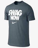 Мужская модная футболка c принтом найк,Nike SWAG NOW