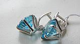 Серебряные серьги , фото 3