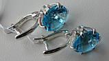 Серебряные серьги , фото 4