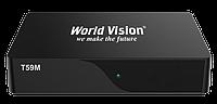 Ресивер DVB-T2 WORLD VISION T59M