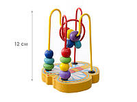 Деревянная развивающая игрушка Лабиринт, 3 вида