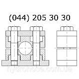 Алюминиевый хомут для труб, в сборе, 5335, фото 3