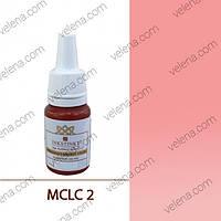 Краска для перманентного макияжа Lips color INKSTINKT 5 мл. МС #02 Гламурный розовый