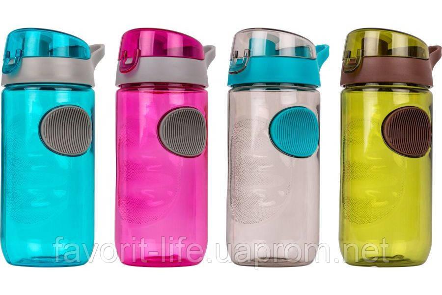 Бутылка для воды SMILE SBP-2 голубая - Интернет-магазин Фаворит в Киеве