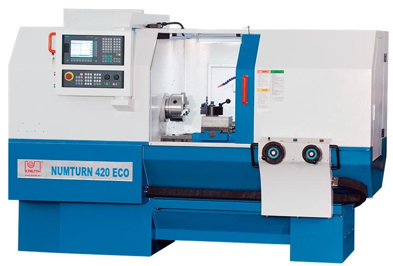 Numturn 420 ECO CNC (Siemens 808D) Токарный станок с ЧПУ и цикловой системой