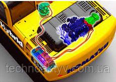 Июнь 2008  Презентация первого в мире гидравлического гибридного экскаватора Komatsu