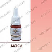 Краска для перманентного макияжа Lips color INKSTINKT 10 мл. МС #08 Пудровый розовый
