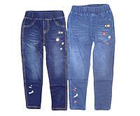 Леггинсы под джинс  для девочек GRACE, размеры 98-128, арт. G-60574