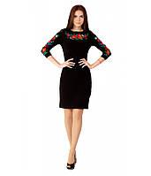 Платье вышитое женское. Черное платье. Платье вышивка. Платье в украинском стиле. Платье вышиванка.
