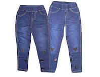 Леггинсы под джинс  для девочек GRACE, размеры 98-128, арт. G-60580