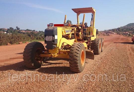 Грейдер Komatsu_GD663A-2 для Уганды. 2017г. - Komatsu получает заказ на 401 единиц строительной техники от правительства Уганды: автогрейдеры, колесные погрузчики и другое оборудование для дорожного строительства