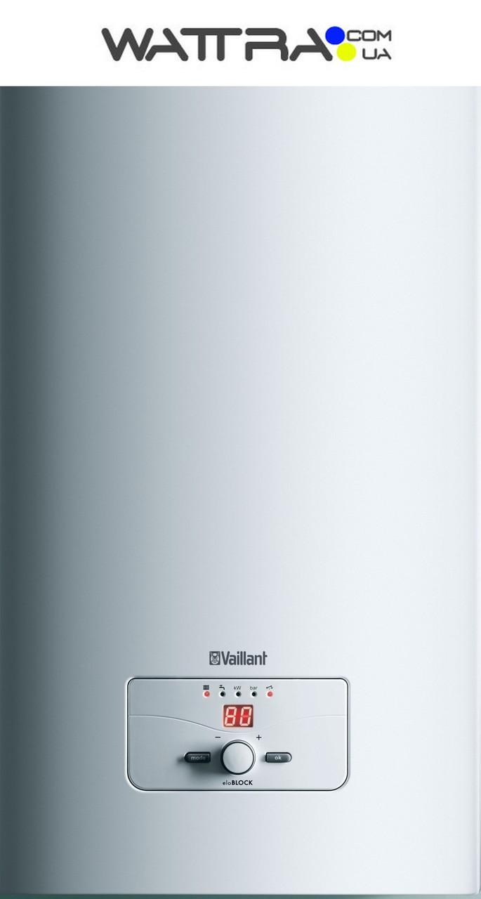 ⭐ Котел Vaillant - eloBLOCK VE6 /14 (3 + 3 кВт)  (220/380 В) электрический отопительный настенный