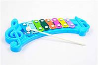 Ксилофон детский с металлическими пластинами (2 цвета) арт. 8805