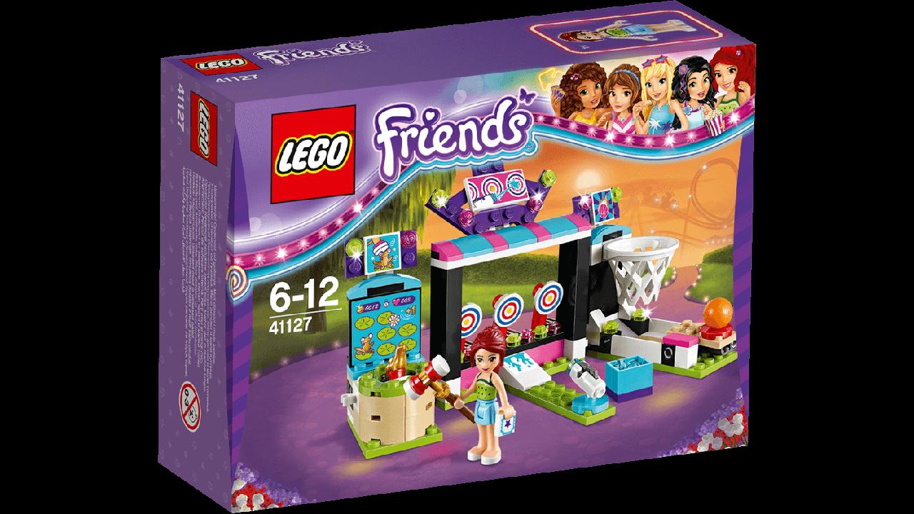 LEGO® Friends ПАРК РАЗВЛЕЧЕНИЙ: ИГРОВЫЕ АВТОМАТЫ 41127