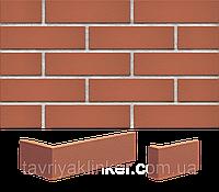 Плитка клинкерная облицовочная King Klinker (01) Рубиновый красный 250х65х10, фото 1