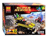 "Конструктор Super Heroes арт. 10238 ""Капитан Америка против Гидры"","