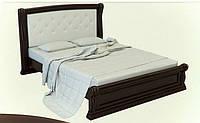 """Кровать с мягким изголовьем """"Женева"""""""