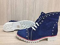 Женские Джинсовые ботинки