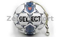 Мяч футбольный тренировочный (фут.тренажер) №5 SELECT COLPO DI TESTA Header trainig (FPUG 1500)