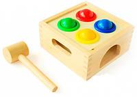 """Деревянная игрушка - стучалка """"Шарики"""" арт. Д027"""