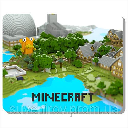 Купить Коврик для мыши с minecraft