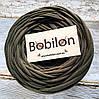 Ленточная пряжа Бобилон, цвет хаки
