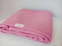 Плед из флиса Розовый