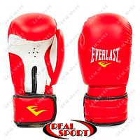 Перчатки боксерские PVC на липучке Everlast MA-5018-Red