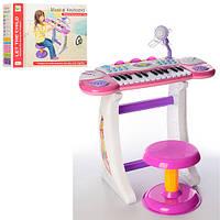Детский синтезатор со стульчиком BB33 ***