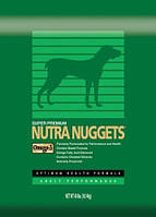 Nutra Nuggets (Нутра Нагетс) зеленая Performance 7,5кг для собак