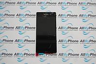 Дисплейный модуль для мобильного телефона Sony Xperia Z3 черный